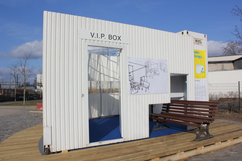 VIP Box, semi-private public space