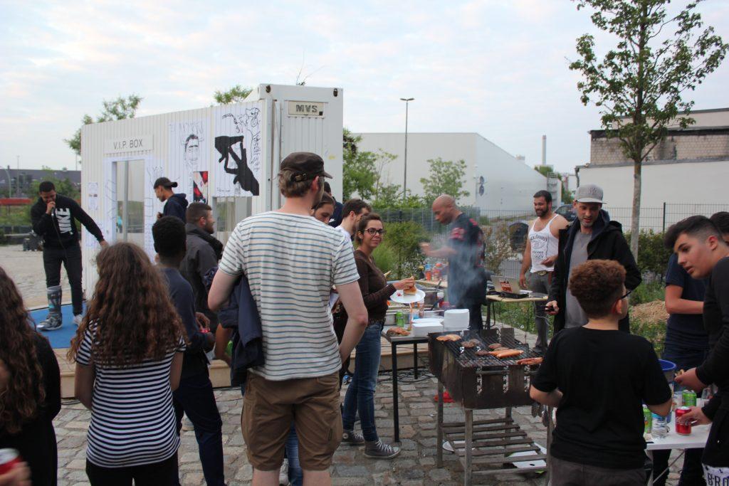 communal BBQ