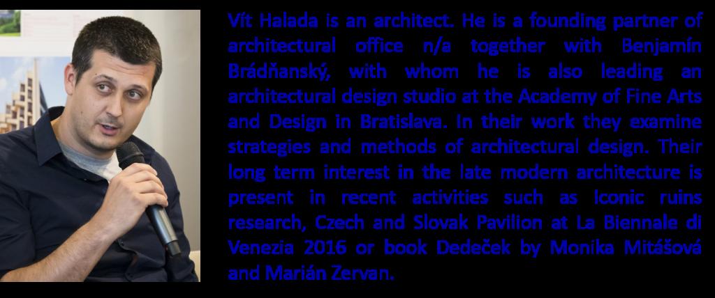 Vít Halada + Bio
