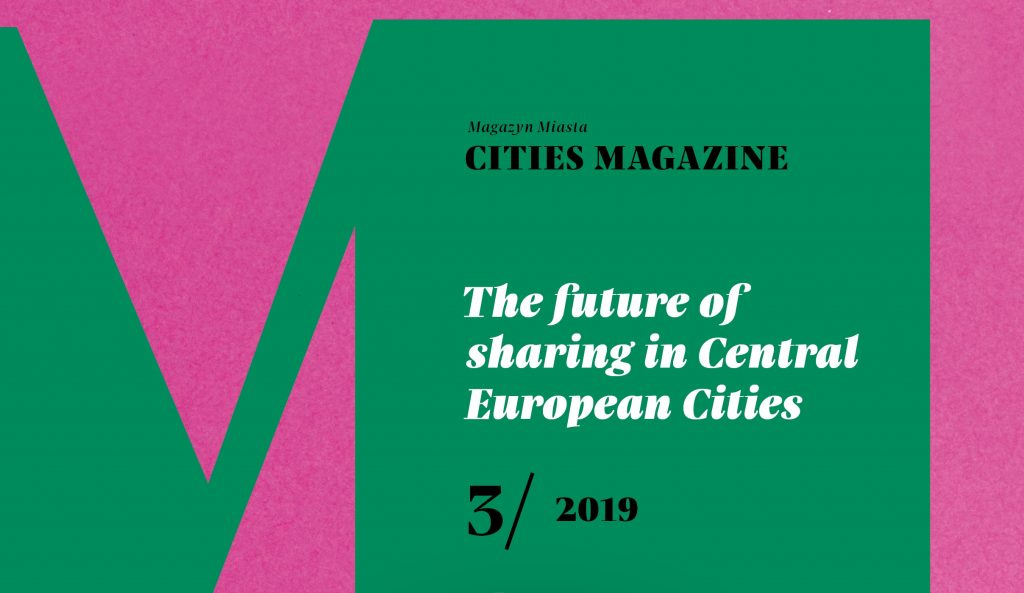 Cities Magazine #3 front page
