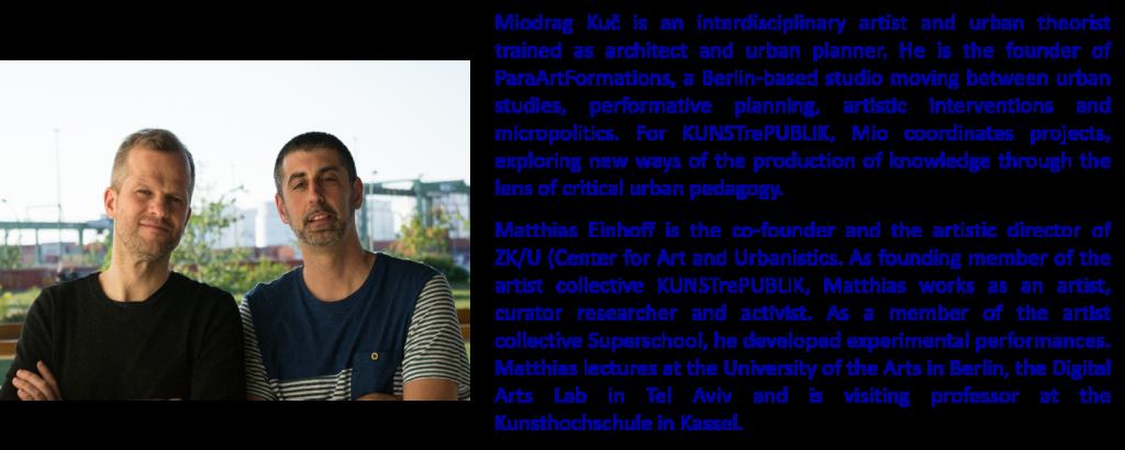 Matthias Einhoff + Miodrag Kuč BIO